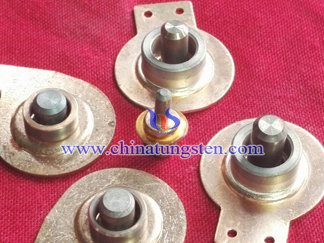 Tungsten Copper High Voltage Electrical Contacts Picture