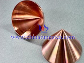 Tungsten Copper Military Shaped Charge Liner Picture